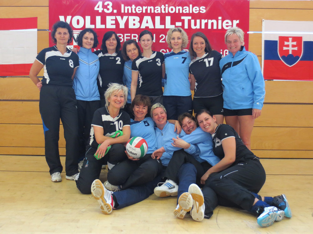 Beim 43. intern. Volleyballturnier
