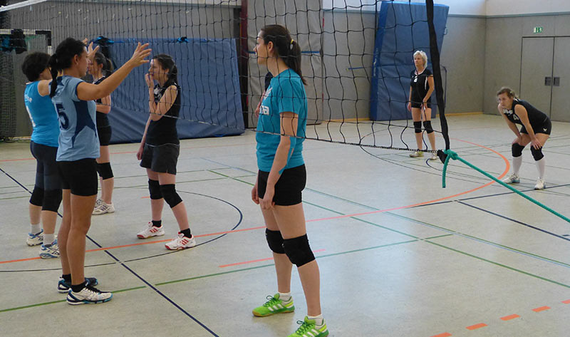 Training der Frauen